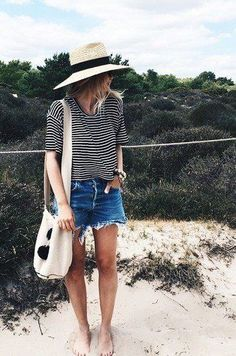 beachy stripes