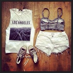 White Outfit ♥