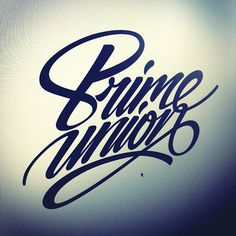 Logo lettering on Behance