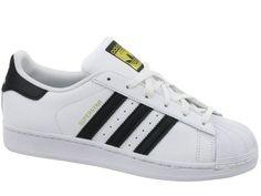 buty białe adidas courest up damskie różowe paski