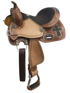 """12"""" Double T youth barrel style saddle"""