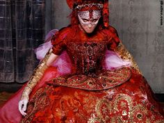 Madonna, in Christian Lacroix