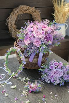 Umělá kytice, svatební komplet Floral Wreath, Wreaths, Home Decor, Homemade Home Decor, Flower Crowns, Door Wreaths, Deco Mesh Wreaths, Interior Design, Home Interiors