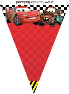 Ideas cars fiesta infantil imprimibles for 2019 ideas cars printable children's party for 2019 Disney Cars Party, Disney Cars Birthday, Car Themed Parties, Cars Birthday Parties, Lightning Mcqueen, Third Birthday, Boy Birthday, Happy Birthday, Motorcycle Birthday Parties