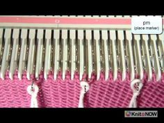 "This is a very useful video on how to covert Hand Knitting terms to Machine Knitting techiques by ""Knit It Now"""
