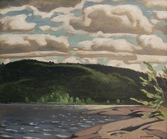 Casson - Lake of Two Rivers x Oil on board Two Rivers, Oil, Artists, Board, Painting, Artist, Painting Art, Paintings, Drawings