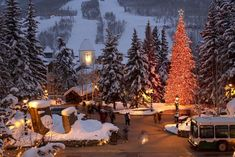Vail Village. Please let it be Christmas already.