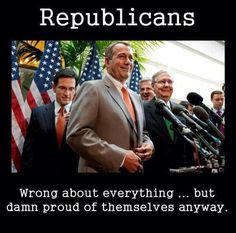 Proud to be Republican Conservative TeaPuppets