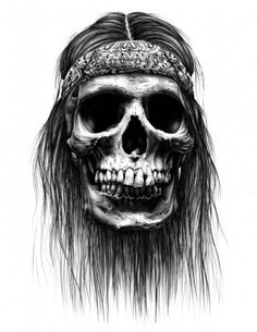 Joe King Art - Obey Hesh Skull