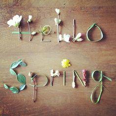 Hello Spring !! #spring