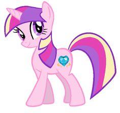 Twilight Sparkle in Princess Cadence's colors by ClassicsAreDEAD.deviantart.com on @deviantART