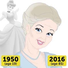 Si les Princesses avaient vieilli normalement : Cendrillon
