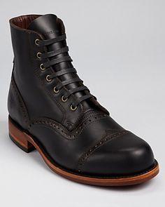 Frye Arkansas Brogue Boots | Bloomingdale's
