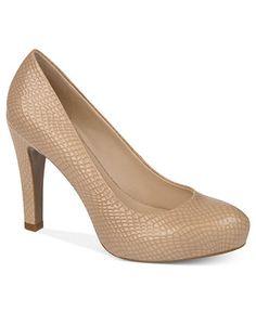 Need nude bridesmaid shoes! Franco Sarto Shoes, Cicero Pumps - Pumps - Shoes - Macy's