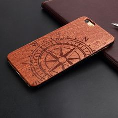 Luxury Bamboo Wood Phone Case For Iphone 5 5S 6 6S 6Plus 6S Plus 7 7Plus Cover Wooden High Quality Shockproof