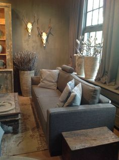 34 Super Ideas For Rustic Living Room Furniture Couch Texture Rustic Living Room Furniture, Couch Furniture, Cozy Living Rooms, Living Room Grey, Living Room Modern, Home Living Room, Living Room Designs, Living Room Decor, Living Roon