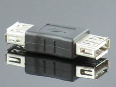 USB Type A Female to Female Adapter Generic http://www.amazon.com/dp/B000GHXTA0/ref=cm_sw_r_pi_dp_t-u0tb159G89XD9Y
