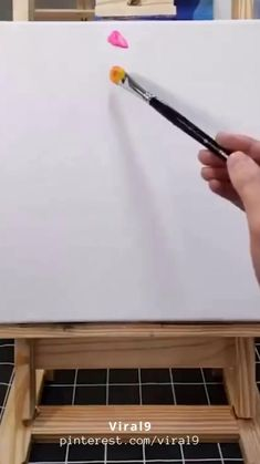Simple Canvas Paintings, Diy Canvas Art, Small Canvas Art, Art Drawings Beautiful, Art Drawings Sketches Simple, Canvas Painting Tutorials, Diy Painting, Art Painting Gallery, Diy Art