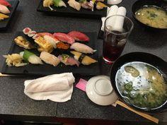 Never had so many pieces in one sitting #sushitime #shibuya #minhua_gu #eat #travel