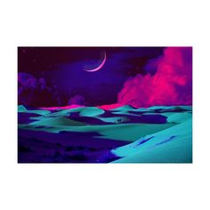 "Dream Sands (16""x24"") by Sweet & Salty at Crush Collective - this piece of vibrant modern art is uniquely created by layering images captured on film and printing them on canvas, $150 !!"