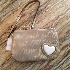 I just added this to my closet on Poshmark: Coach wristlet! Never used with tags!. Price: $25 Size: OS