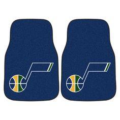 Utah Jazz Blue Carpet Floor Mats