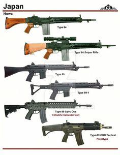 Howa type 89 rifle