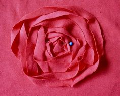 great tutorial on how to make these rosette appliques