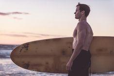 Surfer portrait on the beach Yoga Meditation, Surfboard, Portrait, Beach, The Beach, Surfboards, Portrait Illustration, Beaches, Surfboard Table