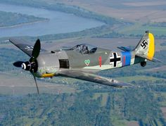 A German Luftwaffe Focke-Wulf Fw190 fighter.