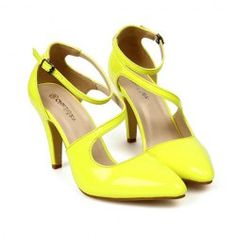$13.31 Party Women's Pumps With Solid Color and Patent Leather Design
