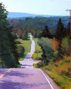 Headed Home  Pastel - Susan Ogilvie. 30 x 24""