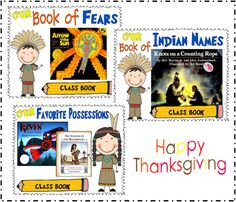 Cute Native American writing activities