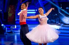 Dani Harmer and Vincent Simone - Strictly Come Dancing - Week 9 - December 2012