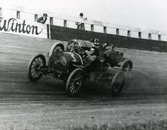 Los Angeles Motordome Board Track @ Playa Del Rey 1911 . . the first Board Track for Car Racing in America