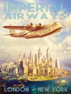 Imperial Airways Posters at AllPosters.com
