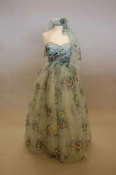 Late 40's gown