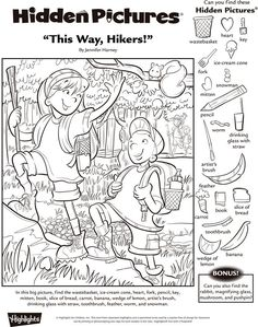 8 Best Images of Hidden Pictures Hidden Picture Games, Hidden Picture Puzzles, Hidden Object Puzzles, Hidden Objects, English Activities, Activities For Kids, Colouring Pages, Coloring Books, Hidden Pictures Printables