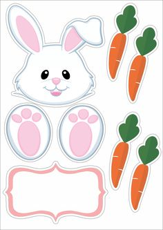 cards, pergamano and paintings - Page 60 Bunny Crafts, Easter Crafts, Crafts For Kids, Happy Easter, Easter Bunny, Easter Eggs, Easter Printables, Easter Holidays, Easter Party