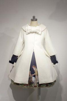 Lullaby -Little Heidi- Vintage Sweet Lolita Long Jacket Kawaii Dress, Cloaks, Long Jackets, Lolita Dress, Fashion Plates, Lolita Fashion, Capes, Beautiful Dresses, Steampunk
