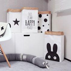 paper-storage-bag-large-storage-bag-organizer-laundry-bags-paper-bag-Rabbit-bags