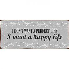 Szyld perfect life | http://gagalu.pl/pl/p/Szyld-perfect-life/349  Idealny do domu, biura, restauracji, sklepu