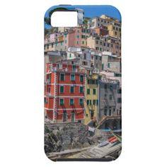 #Riomaggiore Cinque Terre Liguria Italy iPhone SE/5/5s Case - #travel #electronics