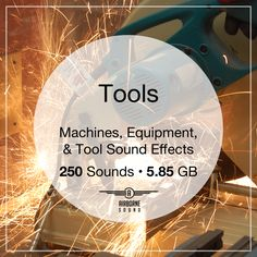 250 professional and consumer shop tools. From saws, hammers, and drills to pneumatic and power tools. Sound Library, Sound Effects, Drills, Power Tools, Libraries, Shop, Electrical Tools, Drill, Library Room