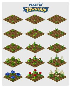 18 Best Township Game Layouts Images In 2017 Email