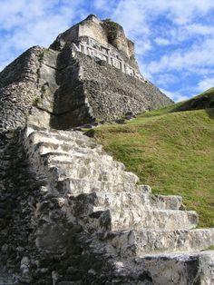 Xunantunich Maya Ruins in Belize, Central America.