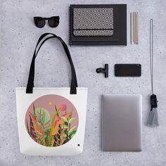 Strong, unique Tote bag -Circle Collection- No. 5