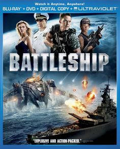 Battleship on Blu-Ray, DVD, and Digital Copy Only $6.96!  http://becomeacouponqueen.com
