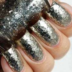 KBShimmer Nail Polish in Sterling Example Swatch