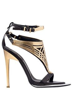 what an absolutely vicious shoe!! Fantastic! | Roberto Cavalli  2013